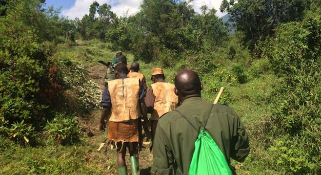 Batwa Experience, Trail in Uganda