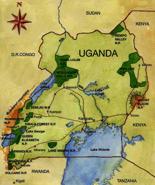 National Parks in Uganda